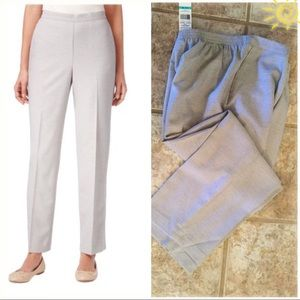 Alfred Dunner Heather Gray Trousers …16